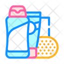 Shower Gel Soap Icon