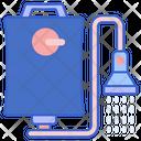 Shower Bag Icon