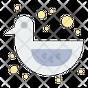 Shower Duck Icon
