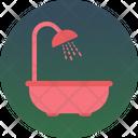 Shower Tub Icon