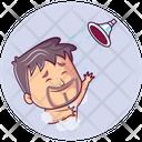 Showering Man Icon