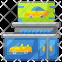 Showroom Shop Car Icon