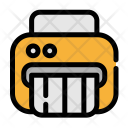 Shredder Document Finance Icon