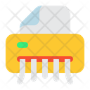 Shredder Destroy Paper Icon
