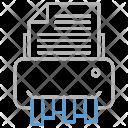 Shredder document Icon