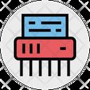 Shredder Machine Delete Office Icon
