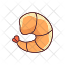 Food Seafood Shrimp Icon