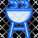 Shrimp Grill Barbecue Icon