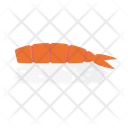 Shrimp Sushi Japanese Icon