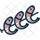 Shrimp Prawn Fry Fish Icon