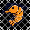 Shrimp Food Seafood Icon