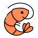 Shrimp Sealife Shellfish Icon