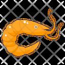 Shrimp Seafood Sea Creature Icon
