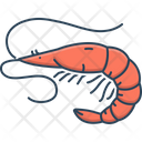 Shrimp Prawn Delicacy Icon