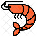 Shrimp Seafood Crab Icon