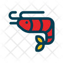 Shrimp Seafood Shellfish Icon