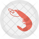 Shrimps Seafood Mussel Icon