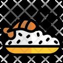 Shrimp Dish Fried Icon
