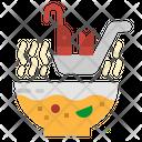 Shrimp Soup Soup Spoon Icon