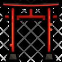 Shrine Worship Temple Icon