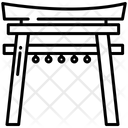 Shrine Shinto Gate Icon