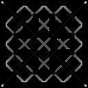 Zoom Shrink Merge Icon