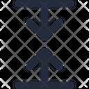 Arrow Collapse Height Icon