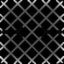 Arrows Horizontal Shrink Icon