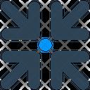 Sign Arrow Shrink Icon