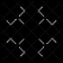 Shrink Minimize Reduce Icon