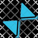 Shrink Expand Reduce Icon