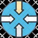 Shrink Center Decrease Icon