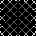 Mirror Arrows Alignment Icon