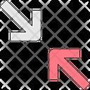 Shrink Arrow Shrink Arrow Icon