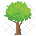Shrub Woodland Plantation Icon