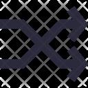 Arrows Shuffle Multimedia Icon