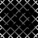 Arrow Cross Shuffle Icon