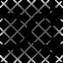 Shuffle Shuffle Arrows Indicator Icon
