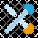 Mix Random Arrow Icon