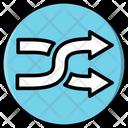 Shuffle Random Play Icon