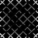 Shuffle Options Arrows Icon