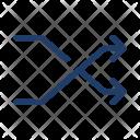 Shuffle Random Arrows Icon