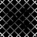 Shuffle Arrow Mixing Icon