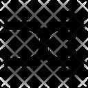 Shuffle Arrow Arrowhead Direction Arrow Icon