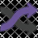 Shuffle Arrows Icon