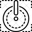 Shut Closed Logout Icon
