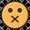 Shut Emoji Expression Icon