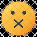 Shut Face Emoji Icon