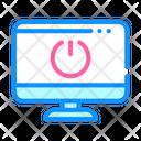 Shut Down Off Data Icon