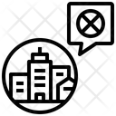 Close Shutdown Lockdown Icon